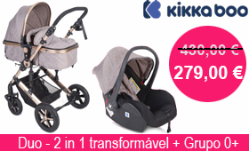 Kika Boo - Darling 3 in 1 Transformável Bege