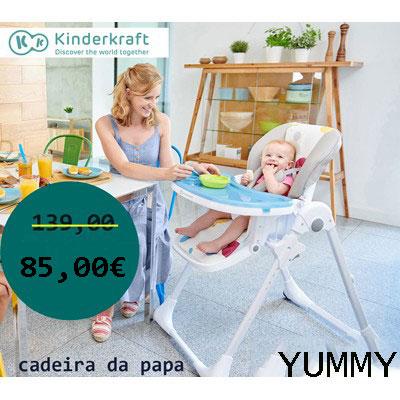 Kinderkraft - Cadeira da papa Yummi