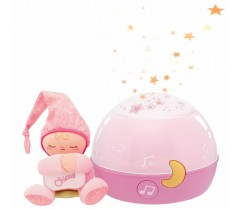 Chicco - Projetor Goodnight Stars rosa