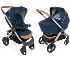 Chicco - DUO STYLE GO UP CROSSOVER Iconic Blue