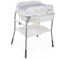 Chicco - Banheira Cuddle & Bubble Cool Grey