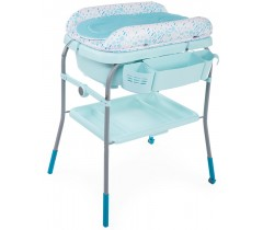 Chicco - Banheira Cuddle & Bubble Dusty Green