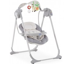 Chicco - Espreguiçadeira Polly Swing Up Silver