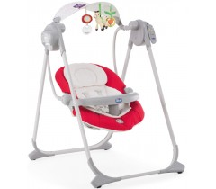 Chicco - Espreguiçadeira Polly Swing Up Paprika