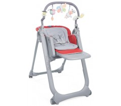 Chicco - Cadeira de papa Polly Magic Relax Scarlet