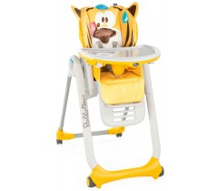 Chicco - Cadeira de papa Polly 2 Start Peaceful Jungle