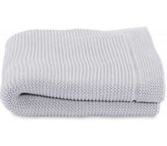 Chicco - Manta em tricot Light Grey