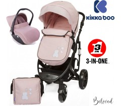 Kika Boo - Beloved 3 en 1 Rosa (chassis preto)
