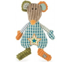Walking Mum - Peluche ratinha Patchwork