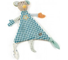 Walking Mum - Doudou ratinho Patchwork