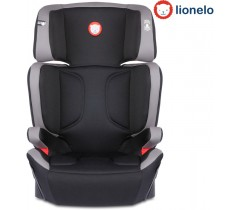 Lionelo - Cadeira auto Hugo Leather Grey isofix (15-36kg)