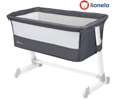 Lionelo - Berço co-sleeping Theo Dark Grey