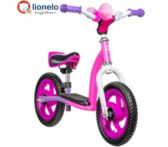 Lionelo - Bicicleta e scooter 2 in 1 Pink Camaleon