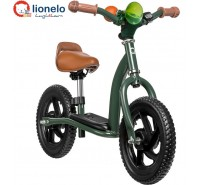 Lionelo - Bicicleta e scooter 2 in 1 Militare Green