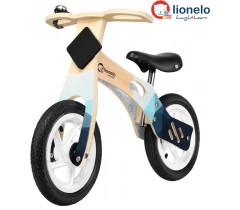 Lionelo - Bicicleta de equilíbrio Willy Air Indygo
