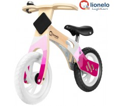 Lionelo - Bicicleta de equilíbrio Willy Bubblegum