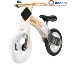Lionelo - Bicicleta de equilíbrio Willy Carbon