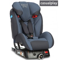 CasualPlay - Cadeira auto  Q-RETRAKTOR FIX II Blue Steel