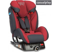 CasualPlay - Cadeira auto  Q-RETRAKTOR FIX II Flame Red
