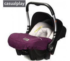 CasualPlay - Cadeira BABY 0+ Plum