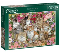 Jumbo - Floral Cats