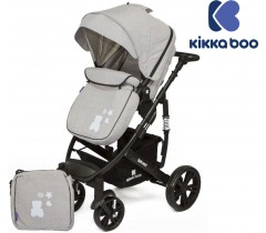 Kikka Boo - Beloved 2 en 1 Gris (Chassis preto)
