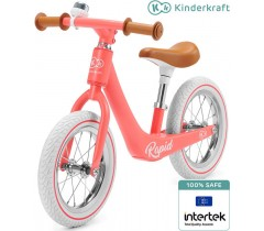 Kinderkraft - Bicicleta sem pedais RAPIDE Magic Coral