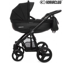 BabyActive - Carrinho de bebé 2 in 1 Mommy Black Magic