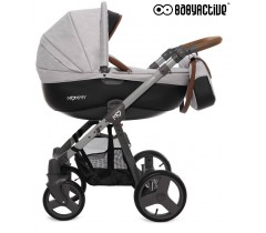 BabyActive - Carrinho de bebé 2 in 1 Mommy Gray Star