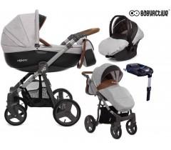 BabyActive - Carrinho de bebé 4 in 1 Mommy Gray Star