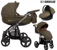 BabyActive - Carrinho de bebé 3 in 1 Mommy Khaki