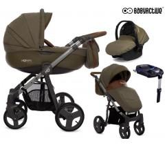 BabyActive - Carrinho de bebé 4 in 1 Mommy Khaki