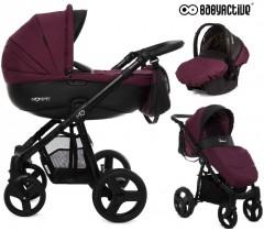 BabyActive - Carrinho de bebé 3 in 1 Mommy Plum