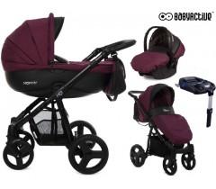 BabyActive - Carrinho de bebé 4 in 1 Mommy Plum
