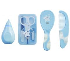 Saro - Estojo para a higiene do bebé Azul
