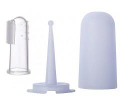 Saro - Escova de dentes Dedal Azul