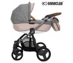 BabyActive - Carrinho de bebé 2 in 1 Mommy Pinky