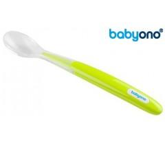 Baby Ono - Colher de silicone verde