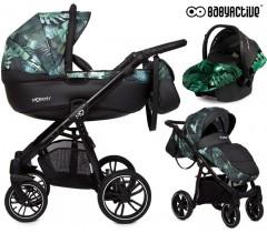 BabyActive - Carrinho de bebé 3 in 1 Mommy Primavera/Verão Jungle