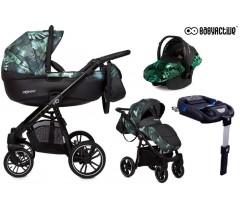 BabyActive - Carrinho de bebé 4 in 1 Mommy Primavera/Verão Jungle