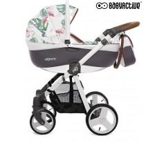 BabyActive - Carrinho de bebé 2 in 1 Mommy Primavera/Verão Flamingo