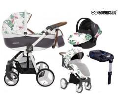 BabyActive - Carrinho de bebé 4 in 1 Mommy Primavera/Verão Flamingo