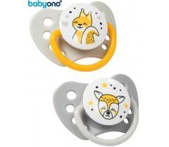 Baby Ono - Chupeta anatómica de silicone 3-6m