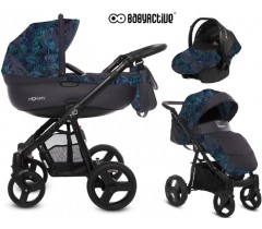 BabyActive - Carrinho de bebé 3 in 1 Mommy Primavera/Verão Night Paradise