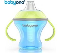 Baby Ono - Copo anti-derramamento com bico rígido 180ml Azul