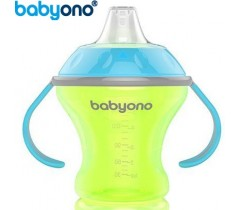 Baby Ono - Copo anti-derramamento com bico rígido 180ml Verde