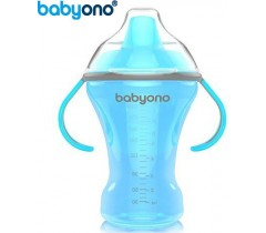 Baby Ono - Copo anti-derramamento com bico rígido 260ml azul