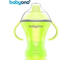 Baby Ono - Copo anti-derramamento com bico rígido 260ml verde