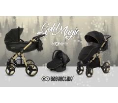 BabyActive - Carrinho de bebé 3 in 1  Mommy Gold Magic Dourado