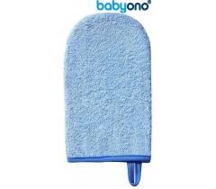 Baby Ono - Luva de lavagem de bebé azul